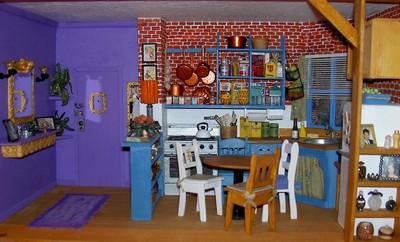 Photo De La Cuisine De Monica Dans Le Feuilleton Friends - La cuisine de monica
